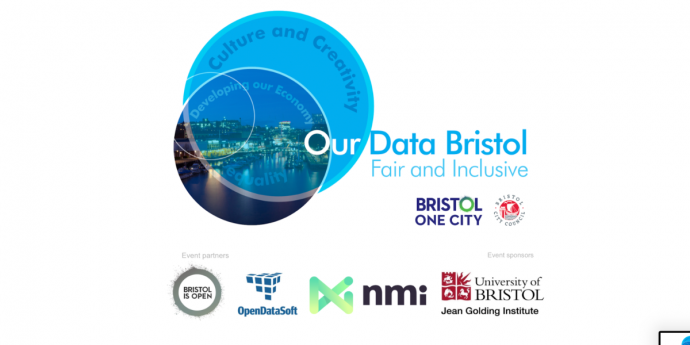 Image logo etc of Our Data Bristol